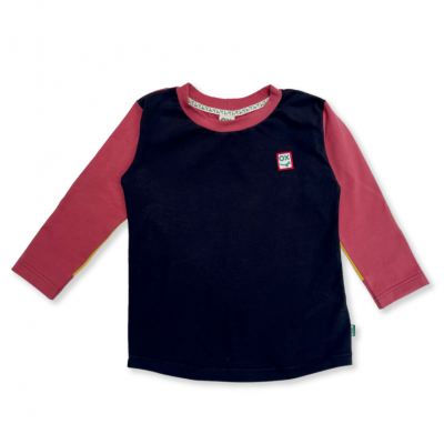 Black, Yellow and Red Flag Long Sleeve T for Kids
